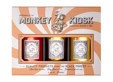 The Monkey Kiosk (Mini Set)