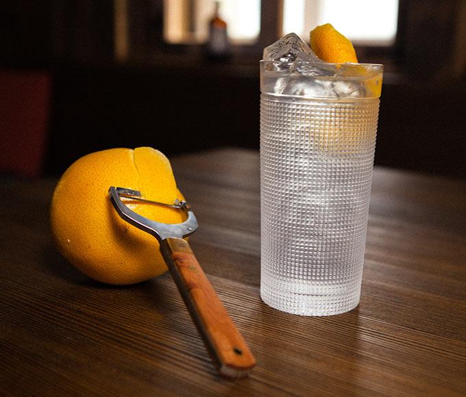 Monkey 47 - Zest Peeler with Gin