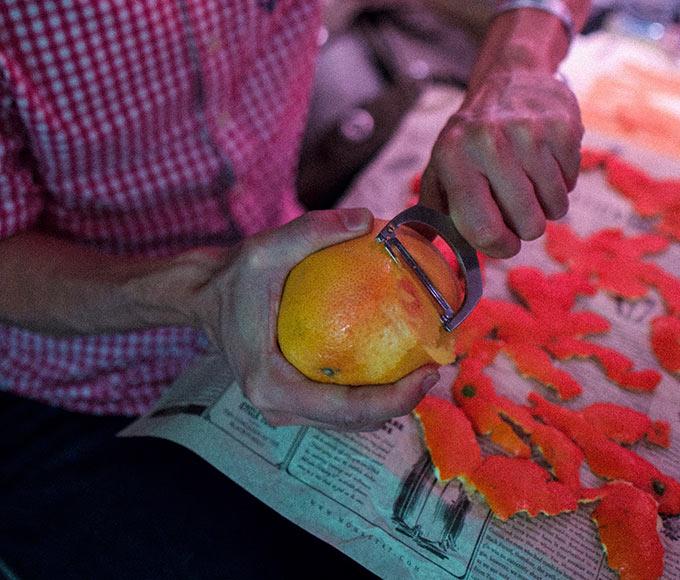 Monkey 47 - Zest Peeler with Orange