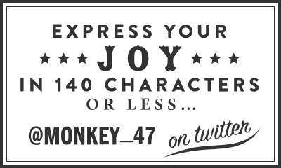 Monkey 47 Gin on Twitter